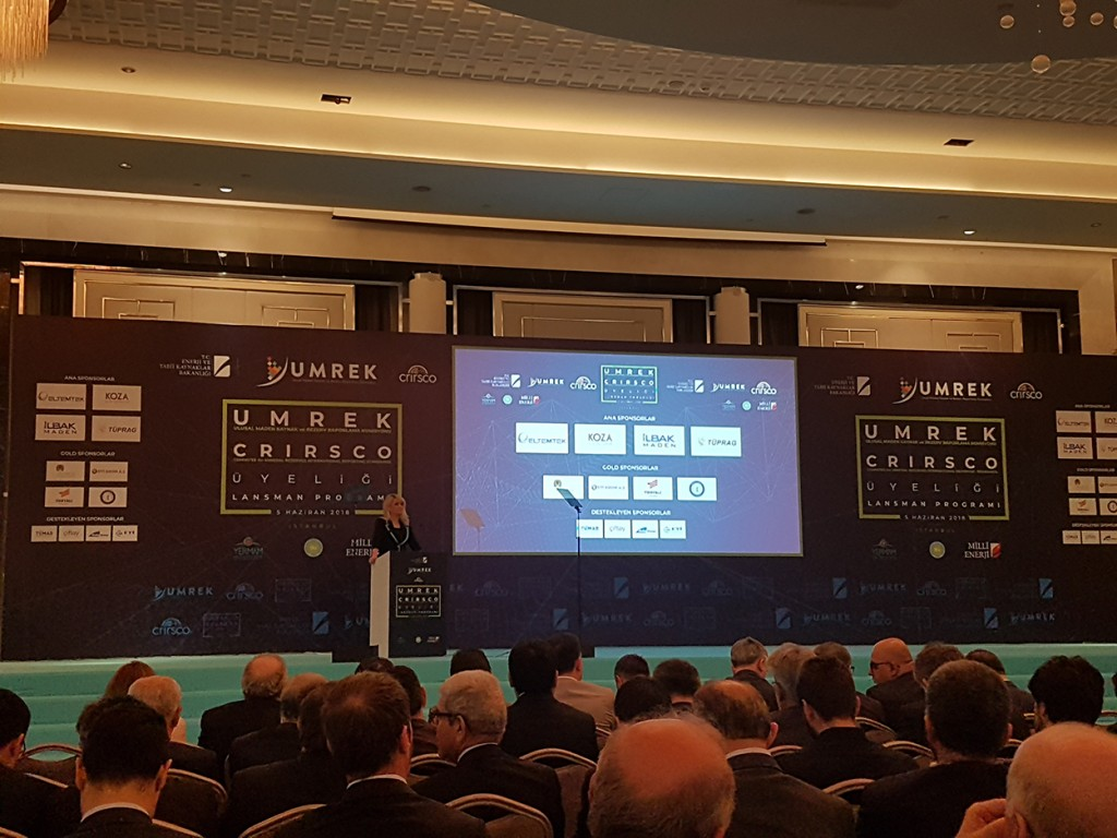 İstanbul Hilton Bomonti Umrek Crirsco Üyelik Lansman Programı